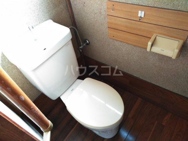 蔀住宅のトイレ