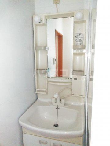 しゃらくホームズ 204号室の洗面所