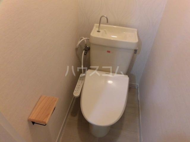 ビュー調布ヶ丘 202号室のトイレ