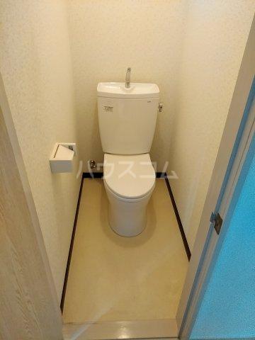 高野台コーポ 102号室のトイレ
