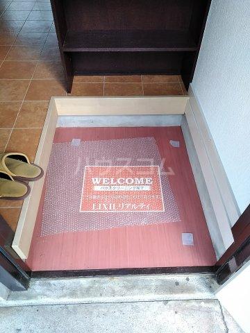 高野台コーポ 102号室の玄関