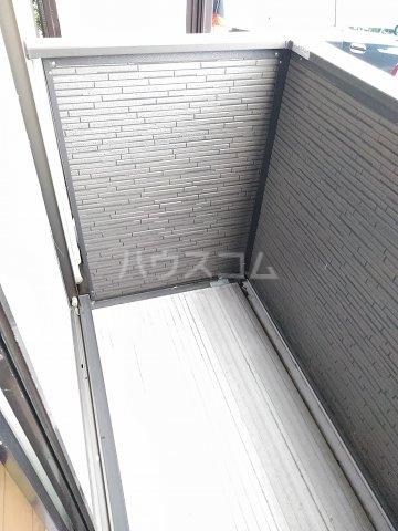 高野台コーポ 102号室のバルコニー