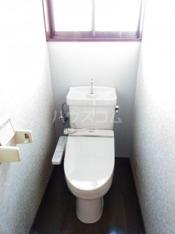 大平グリーンハイツ 101号室のトイレ