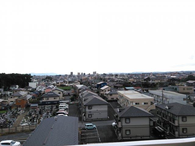 総業水戸第三姫子ハイム 710号室の景色