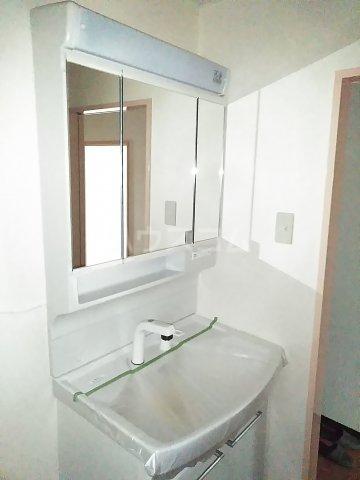 総業水戸第三姫子ハイム 710号室の洗面所