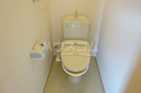 ボナールB 203号室のトイレ