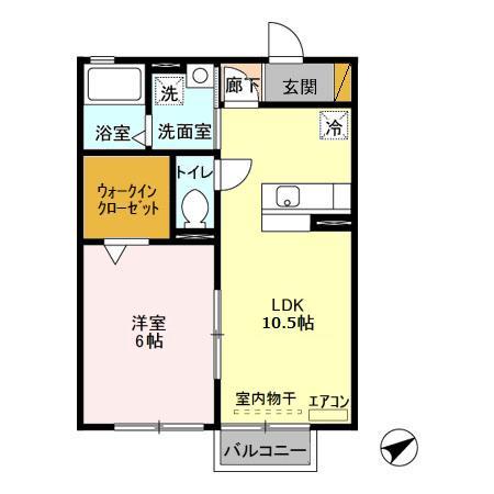 "domain""950""・207号室の間取り"