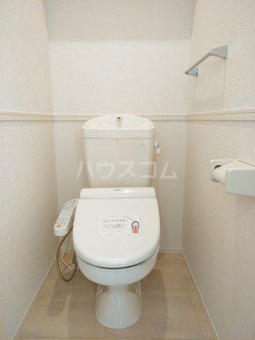 ティアラ A 208号室のトイレ