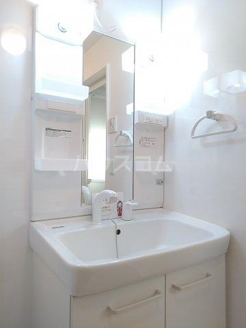ティアラ A 208号室の洗面所