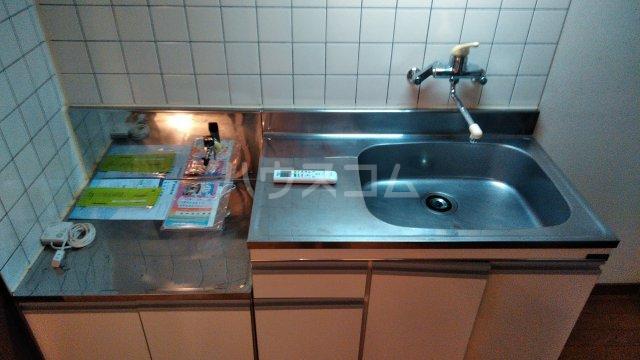 フローラル321 205号室のキッチン
