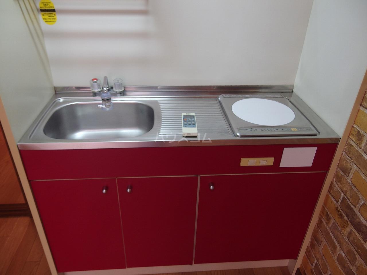コーポアメニティⅡ 103号室のキッチン