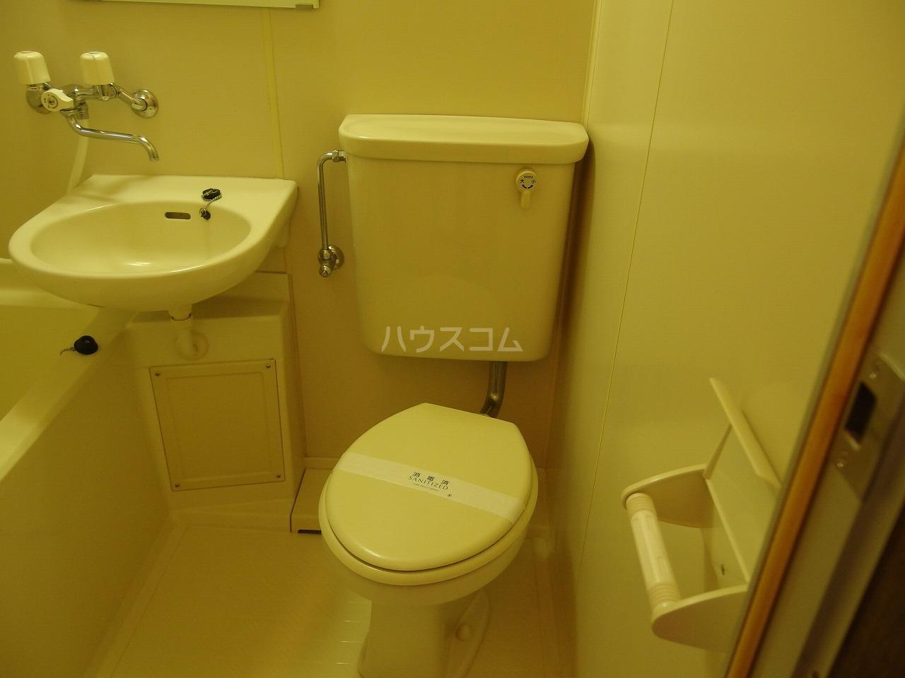 コーポアメニティⅡ 103号室のトイレ