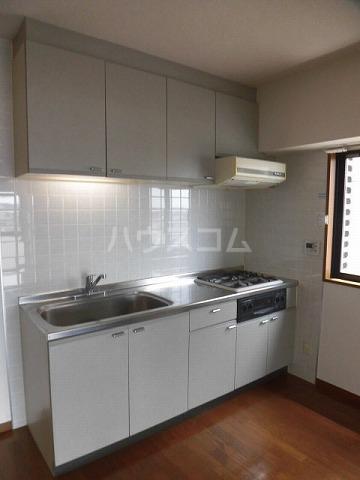 エスペランザヴィエント 401号室のキッチン