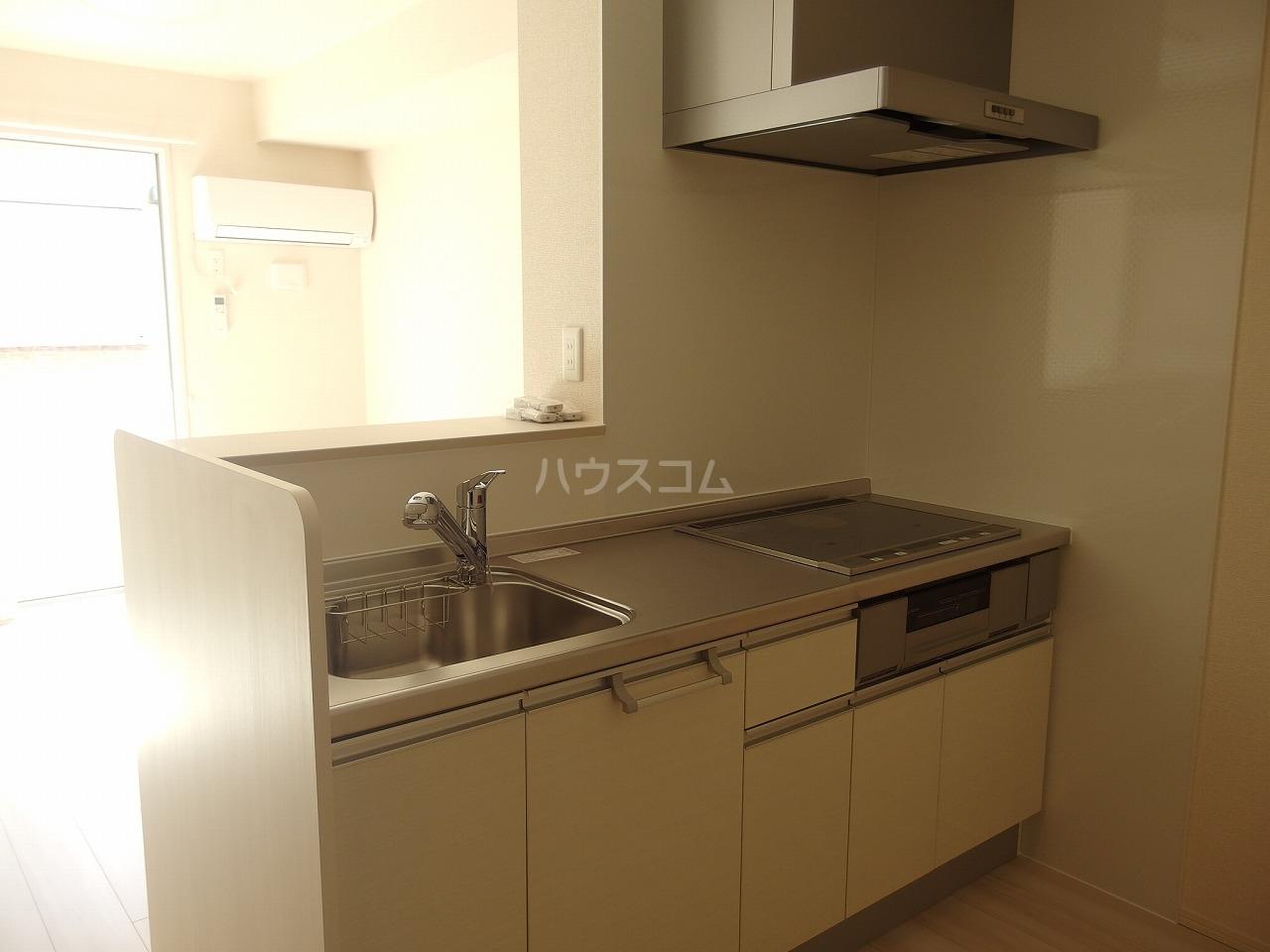 グランメール 102号室のキッチン