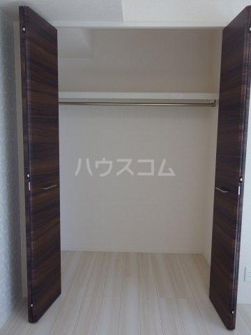 グランメール 103号室の収納