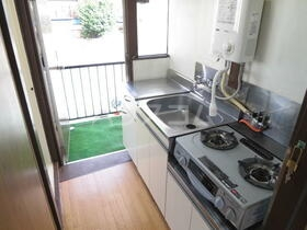 星野荘 2-5号室のキッチン