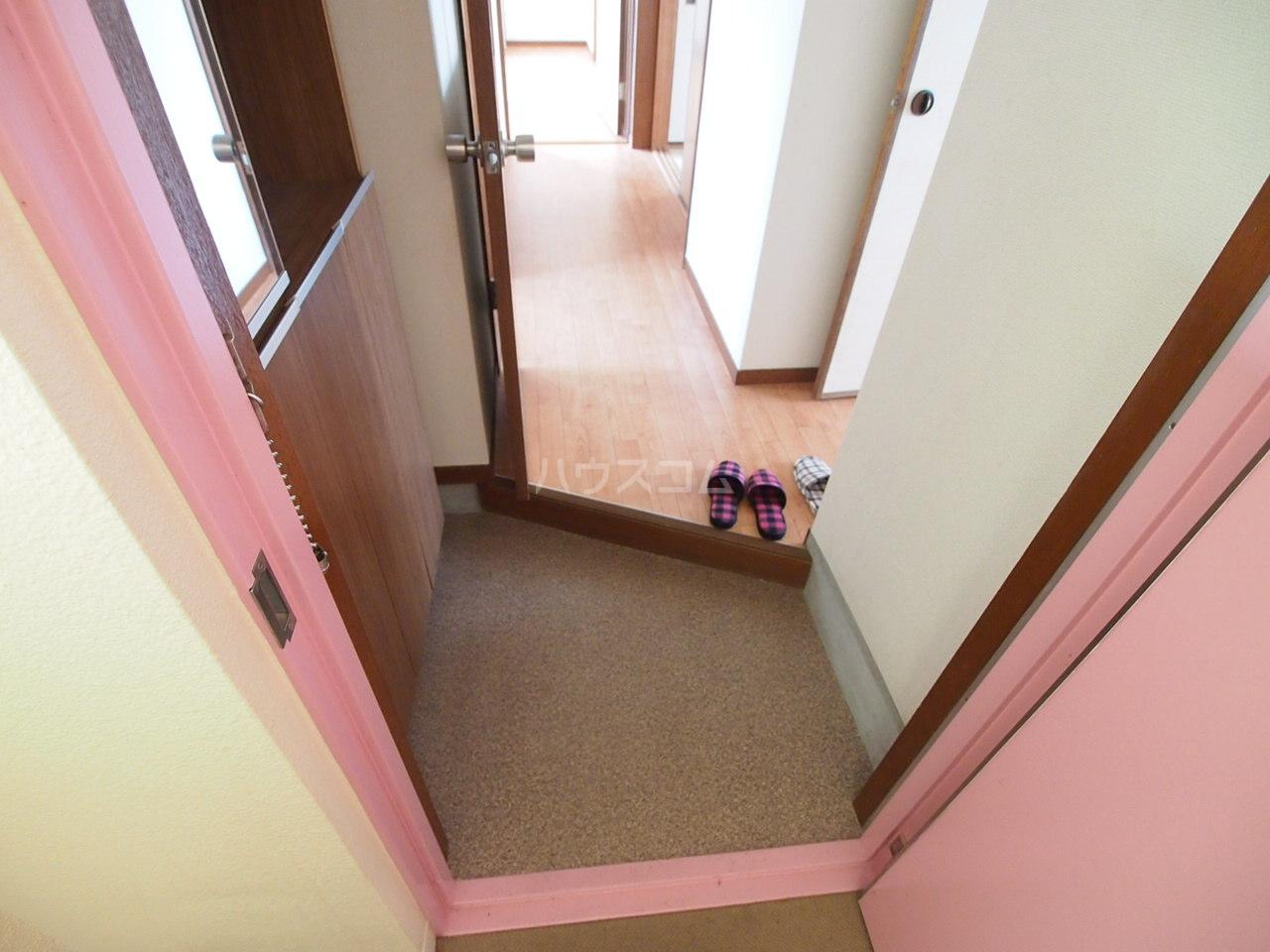 サクラハイツ 201号室の玄関