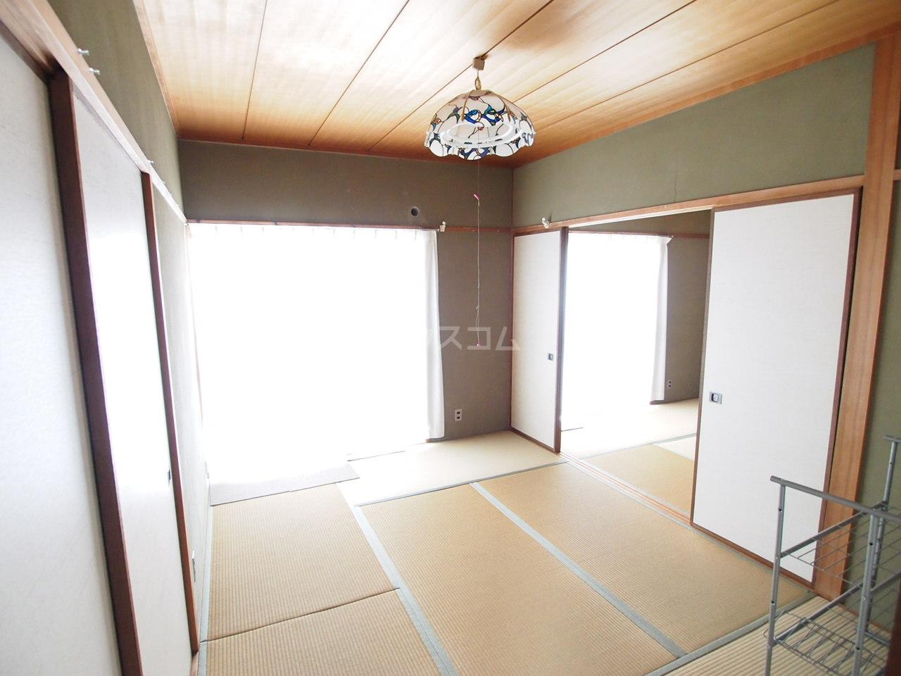 サクラハイツ 201号室のベッドルーム