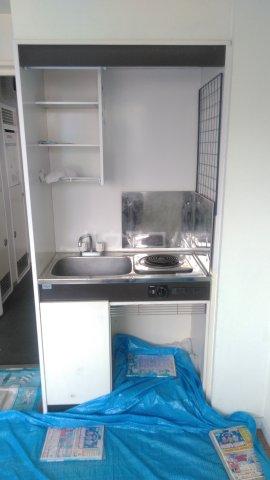 プライムハイム 302号室のキッチン