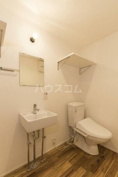 フォレスタ雪谷 202号室のトイレ
