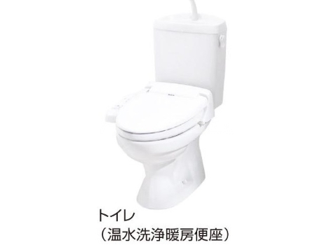 ビ・オーラ城南 01030号室のトイレ