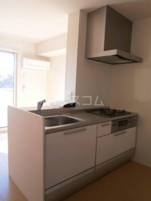 リェス ソーンツェ B 205号室のキッチン