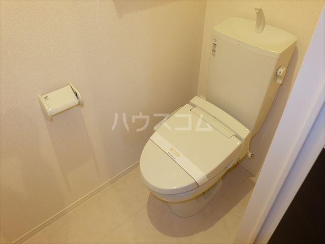 リェス ソーンツェ B 205号室のトイレ