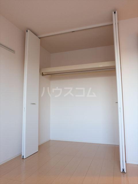 リェス ソーンツェ B 205号室の収納