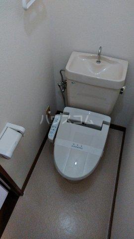 えびすコーポ 103号室のトイレ