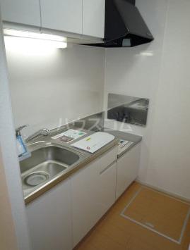 パークサイドエイシュウ Ⅲ 01010号室のキッチン