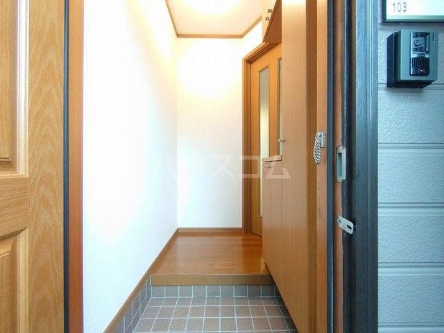 サン・エトワール 01030号室の玄関