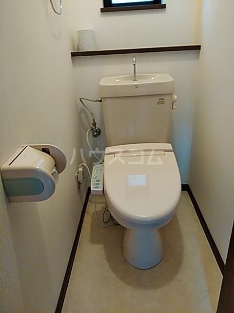 星ヶ丘元町貸家のトイレ