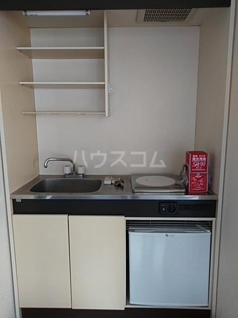 すみれハウス 106号室のキッチン