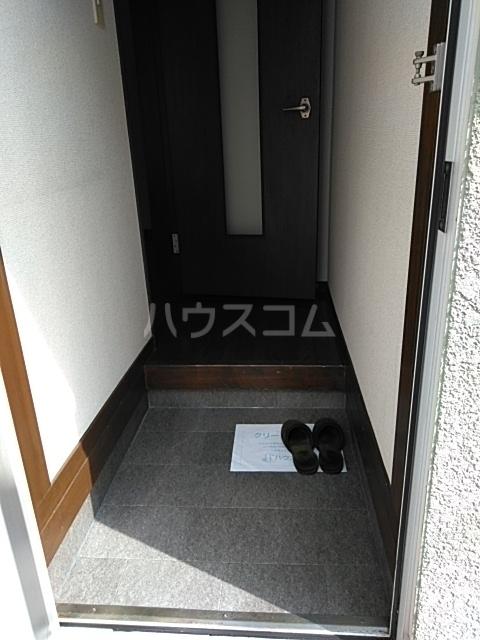 すみれハウス 106号室の玄関