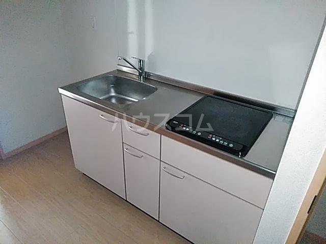 アミティー伊奈 205号室のキッチン