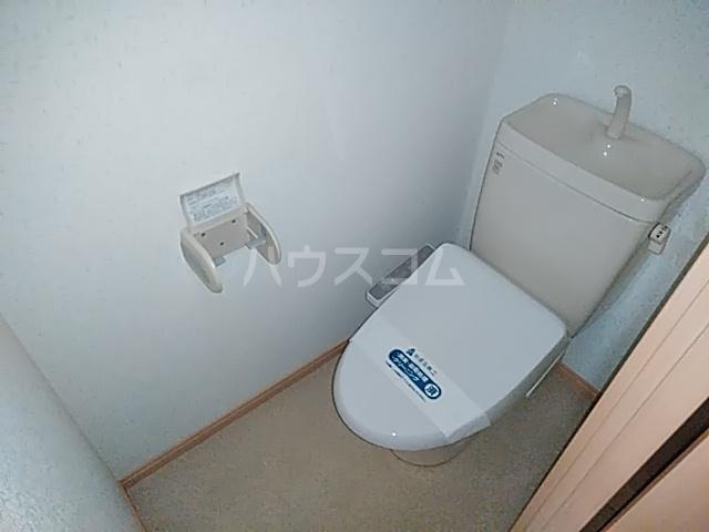 アミティー伊奈 205号室のトイレ