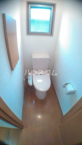 サンハイム白鳥 202号室のトイレ