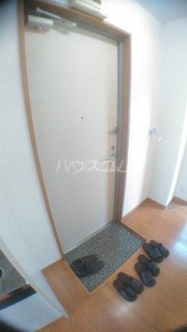 サンハイム白鳥 202号室の玄関