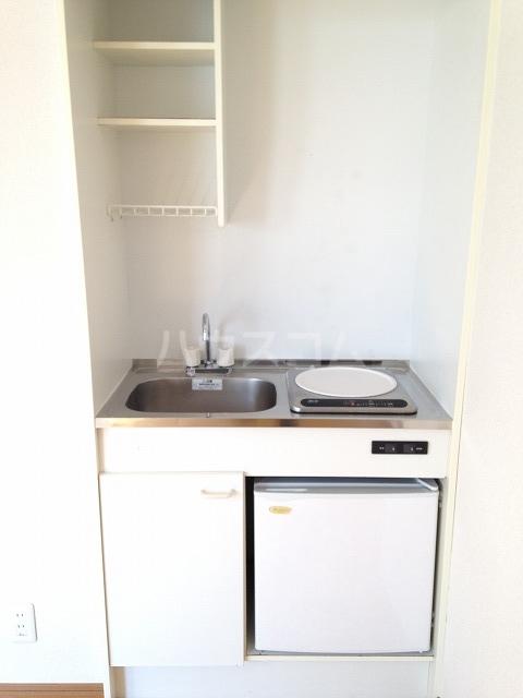 エスポワール日吉 205号室のキッチン