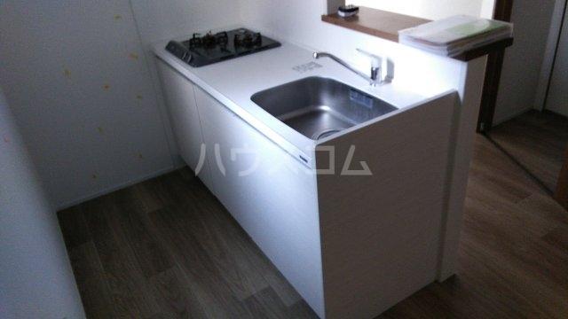 ビューノ ル・レーヴ 201号室のキッチン