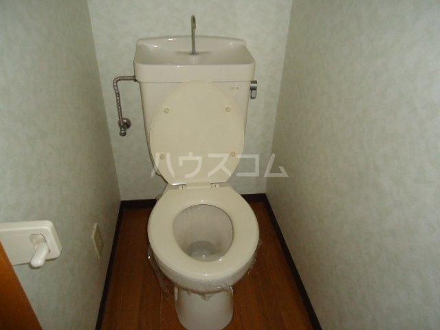 クレールK 106号室のトイレ