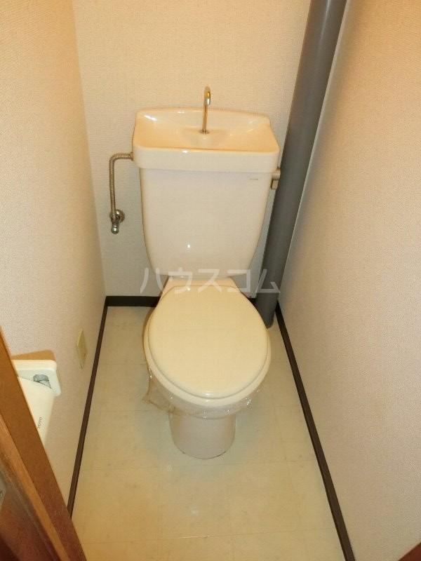 クレールK 203号室のトイレ