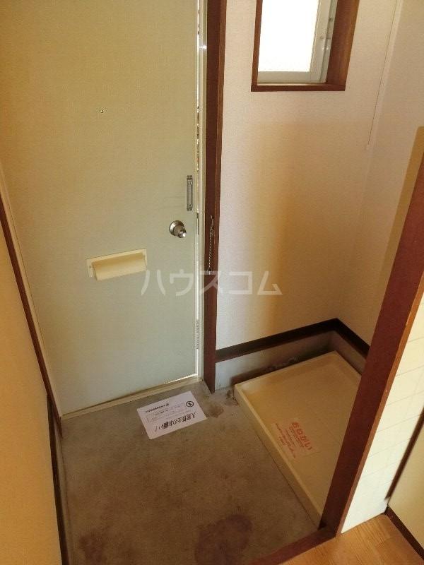クレールK 203号室の玄関