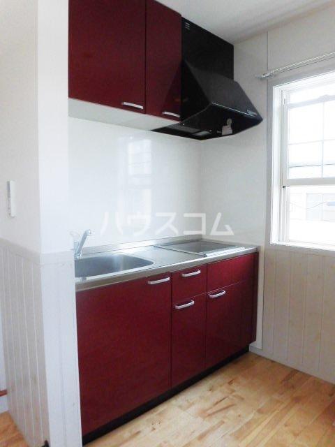 ロフト壱番館 2B号室のキッチン