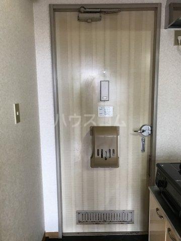 スカイハイツ高砂A棟 203号室のセキュリティ