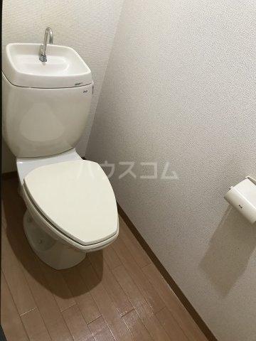 スカイハイツ高砂A棟 203号室のトイレ