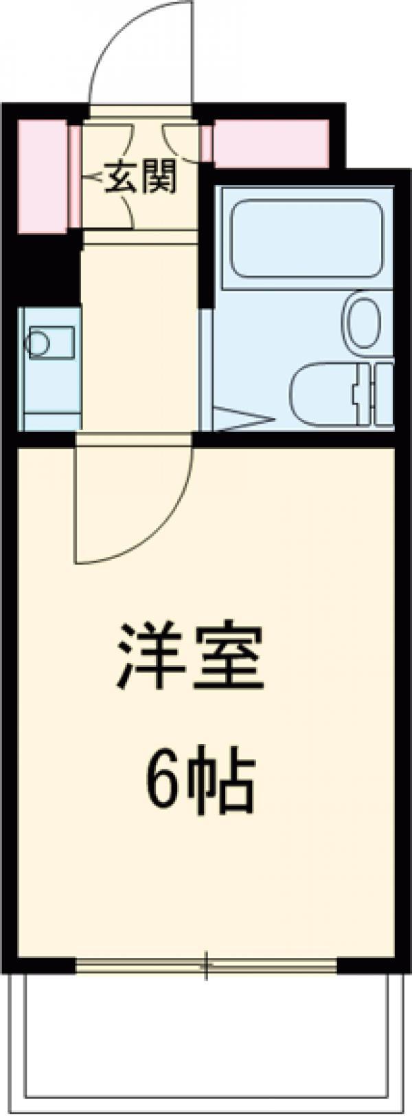 ロイヤルマンション・303号室の間取り