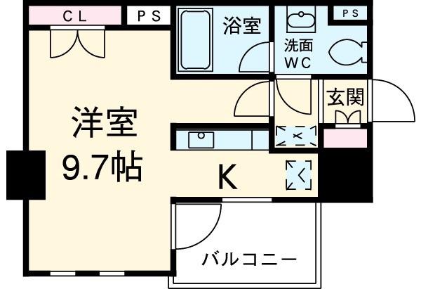 ユリカロゼ東京イースト・1004号室の間取り