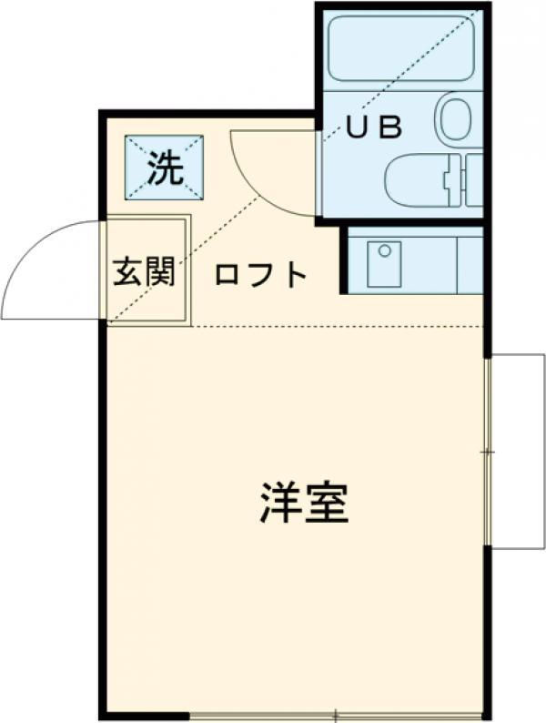 シェ・モワ烏山 206号室の間取り
