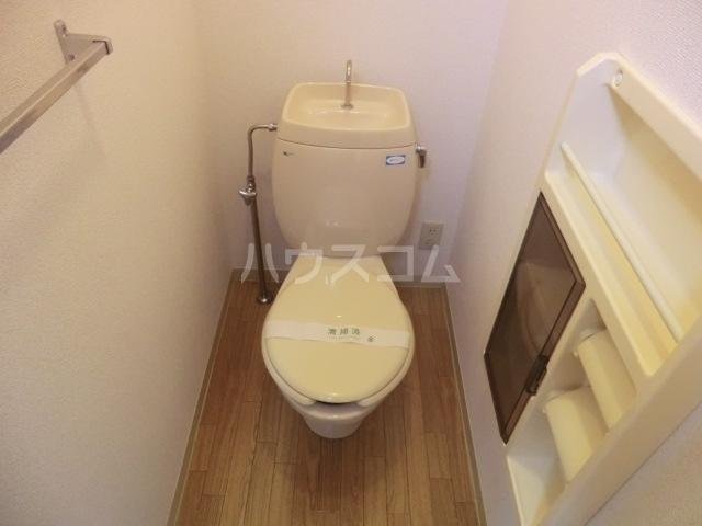 クレール23 B棟 107号室のトイレ
